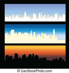stadt, skylines