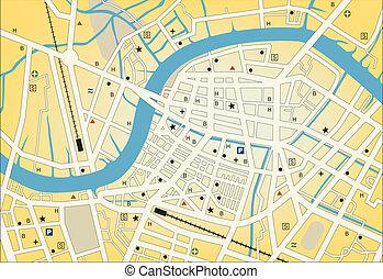 stadt, streetmap