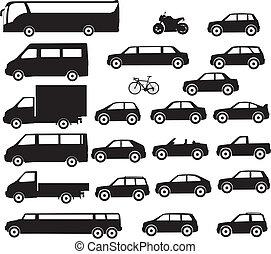 stadt, transport