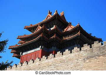 stadt, verboten, porzellan, tempel, beijing