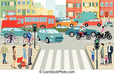 Stadt-Verkehr