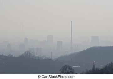 stadt, verunreinigung