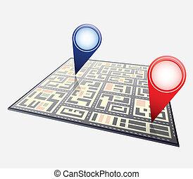 stadtlandkarte