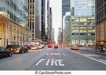 stadtstraße, york, neu , wasserwaage