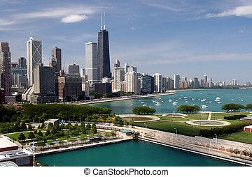 stadtzentrum, chicago