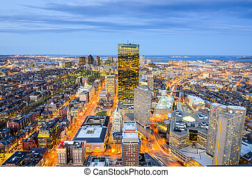 stadtzentrum, cityscape, massachusetts, boston