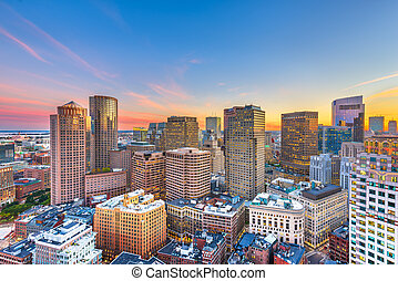 stadtzentrum, cityscape, massachusetts, boston, usa