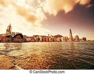 stadtzentrum, hongkong