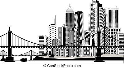 stadtzentrum, skyline