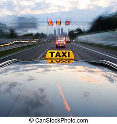 stadtzentrum, taxi