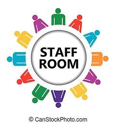 Staff room icon