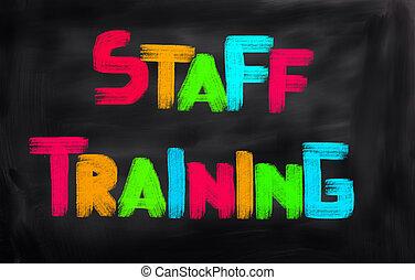Staff Training Concept