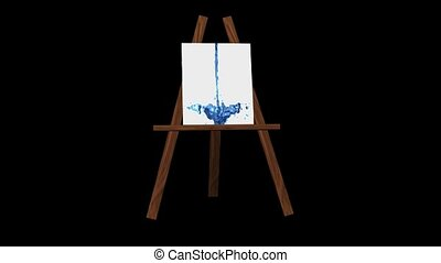 staffelei, kunst