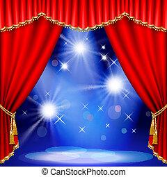 stage., 劇場, mesh.