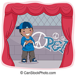 Actor On Stage Clipart