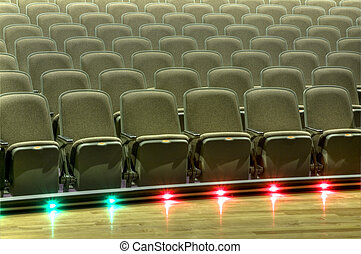 Stage at High School