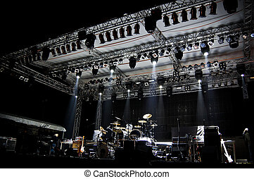 Stage in Lights - DARK