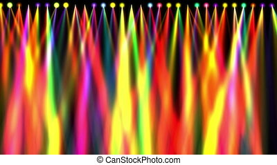 stage light colorful abstract 4k