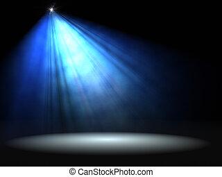 Concert Lighting Against A Dark Background Illustration