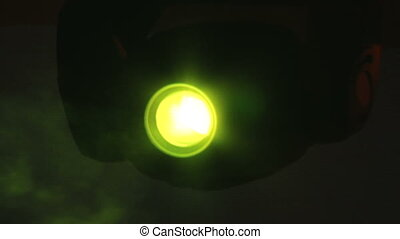 Stage light, yellow