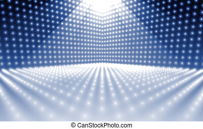 stage lights - An image of a stage lights background