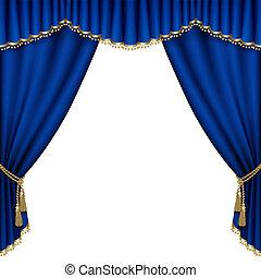 stage., théâtre, mesh.