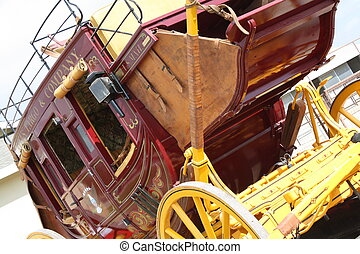 An old stage coach