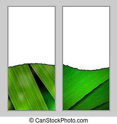 stagionale, fresco, bandiere, verticale