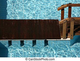 stagno, nuoto