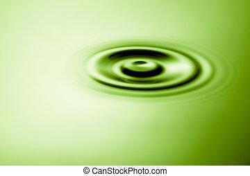 stagno, ondulazione, acqua