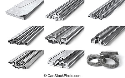 stahl, tubes., gerollt, metall, profile, products.,...