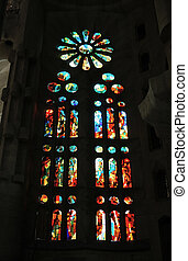 Stained glass - Cathedral window