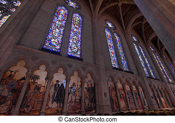 Stained Glass Grace Cathedral