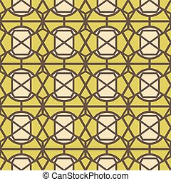 Stained glass seamless abstract pattern