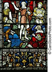 Stained Glass window, Christchurch, New Zealand - Stained ...