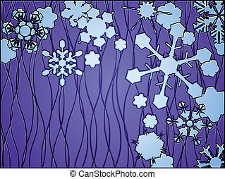 Stained glass Winter