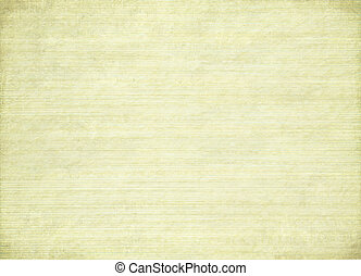 Stained ribbed cream paper with burned edges - Stained...