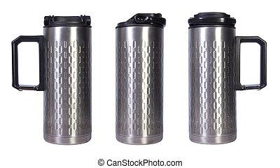 Stainless designed thermal mug