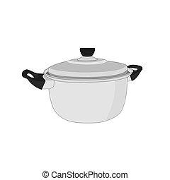 Stainless pot cookware