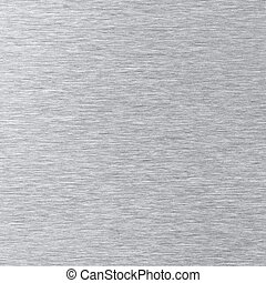 Brushed stainless steel texture as background