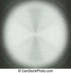 Stainless Steel circle Abstract Background Texture