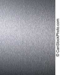 Stainless Steel - Closeup detailed stainless steel...