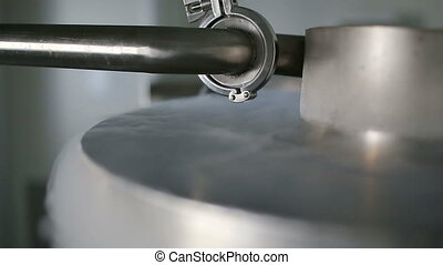 Stainless steel dewar barrel - Stainless steel dewar barrel,...