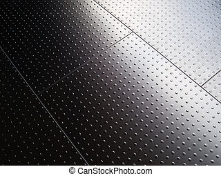 stainless steel interior floor panels