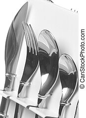 Stainless Steel Forks, Spoons and Knives