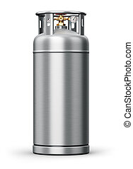 Stainless steel high pressure industrial container for...