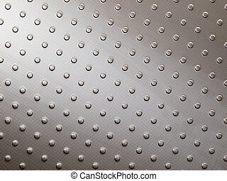 Stainless steel metal surface of floor panel