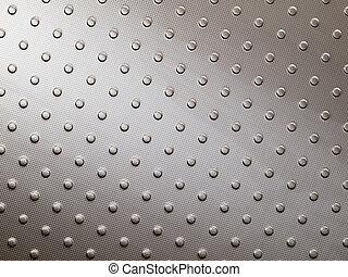 Stainless steel metal surface of floor panel