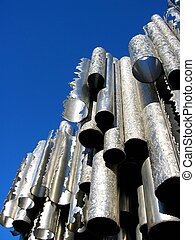 Stainless steel pipes...