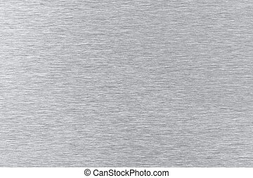 Stainless steel - Brushed stainless steel texture as...
